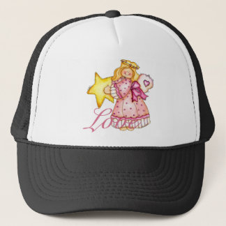 Country Art Star Girl - Love Trucker Hat