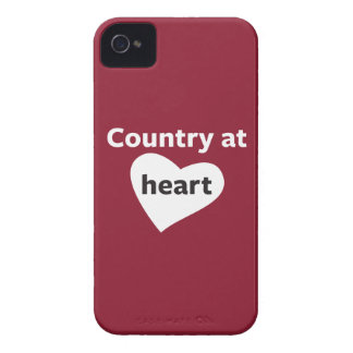 Country at Heart iPhone 4 Cases