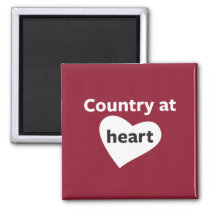 Country at Heart Magnet