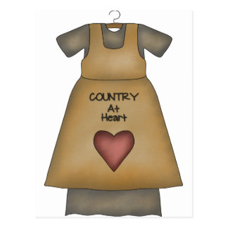 Country at Heart Postcard