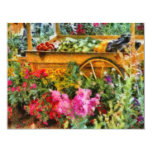 """Country - At the farmers market 4.25"""" X 5.5"""" Invitation Card"""