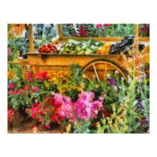 Country - At the farmers market Letterhead Design