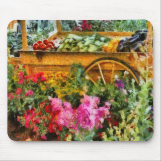 Country - At the farmers market Mouse Pad