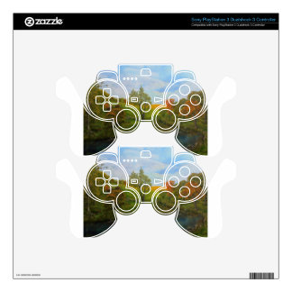 Country Autumn Decal For PS3 Controller