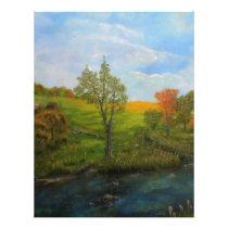 Country Autumn Letterhead