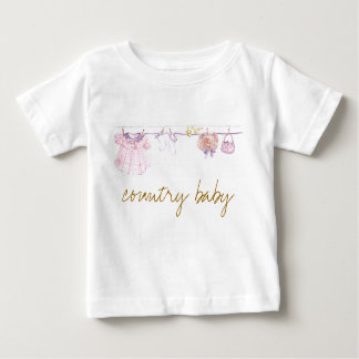 Country Baby Baby T-Shirt