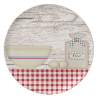 Country Baking Plate