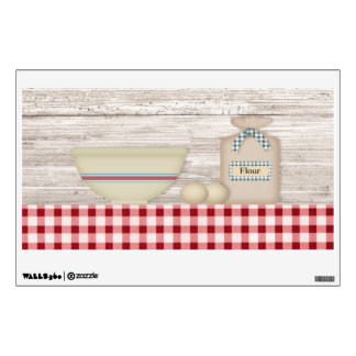 Country Baking Wall Decal