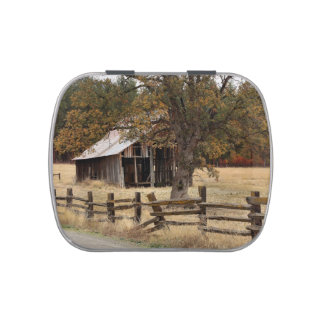 COUNTRY BARN JELLY BELLY TIN