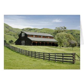 Country Barn Card
