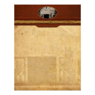 Country - Barn - Country maintenance Custom Letterhead