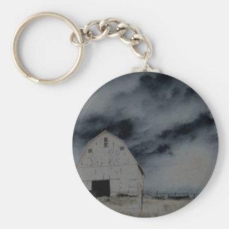 Country Barn Keychain