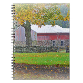 Country Barn Notebook