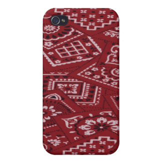 Country Barn Red Bandana Speck Case iPhone 4 iPhone 4 Cases