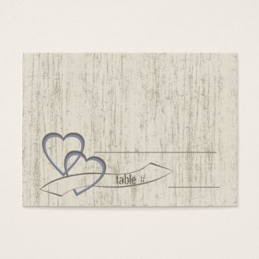 happygotimes Country Barn Wood Wedding Hearts Business Card
