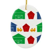 Country Barns Ceramic Ornament