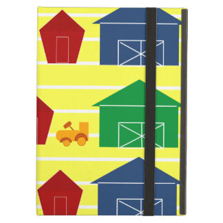 Country Barns on Stripes Case For iPad Air
