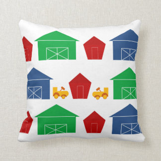 Country Barns Throw Pillow