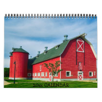 Country Barns Tractors Farms Calendar