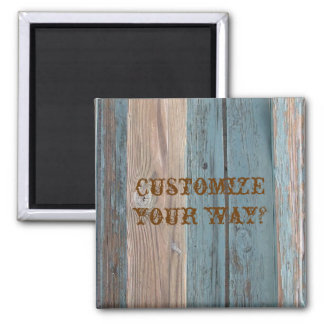 Country Barnwood Colors Fridge Magnet