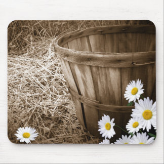 Country Basket Mouse Pad