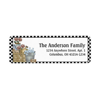 Country Bath Products Return Address Labels