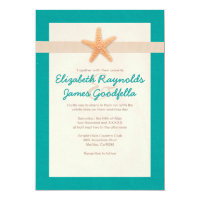 Country Beach Destination Wedding Invitations