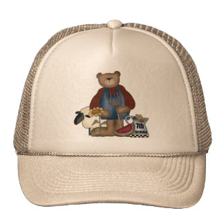 Country Bear 7th Birthday Gifts Trucker Hat