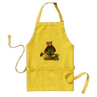 Country Bear 8th Birthday Gifts Adult Apron