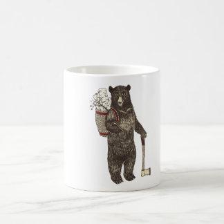 Country Bear Christmas Coffee Mug