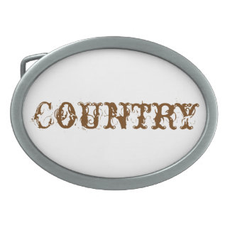Country Belt Buckle