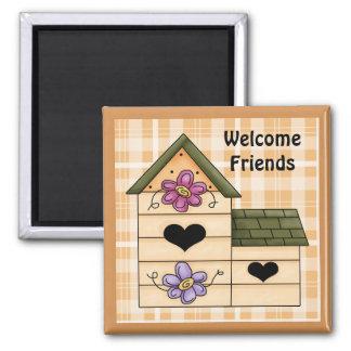 Country Birdhouse Fridge Magnet 4