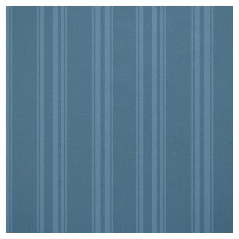 Country blue pinstripes fabric