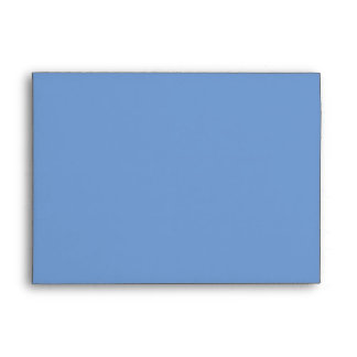 Country Blue Snowflake Envelope