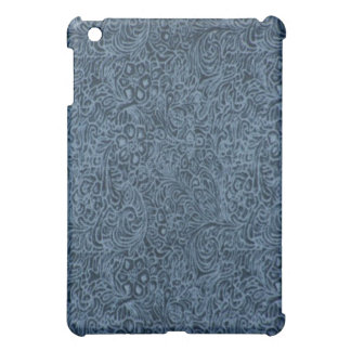 Country Blueberry Leather Pattern Print iPad Case