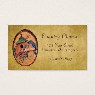 Country Bluebirds Business Card