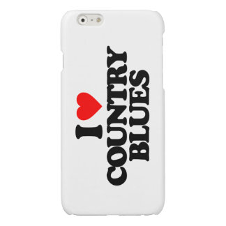 COUNTRY BLUES GLOSSY iPhone 6 CASE