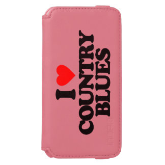 COUNTRY BLUES iPhone 6/6S WALLET CASE