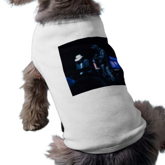 Country Blues Musicians Shadowy Impression Dog Shirt