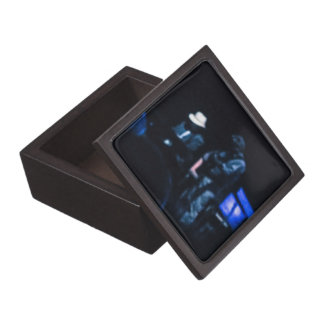 Country Blues Musicians Shadowy Impression Premium Keepsake Boxes
