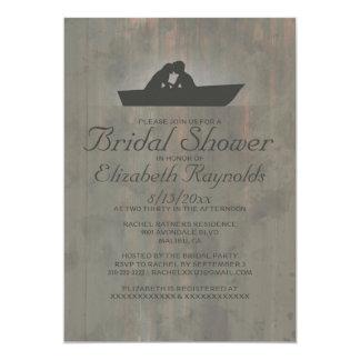 Country Boat Bridal Shower Invitations Invitation