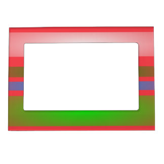 Country Boy Stripes Magnetic Photo Frame