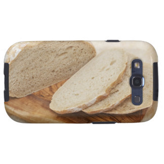 Country Bread (Pain de Campagne) on a chopping Samsung Galaxy SIII Cases