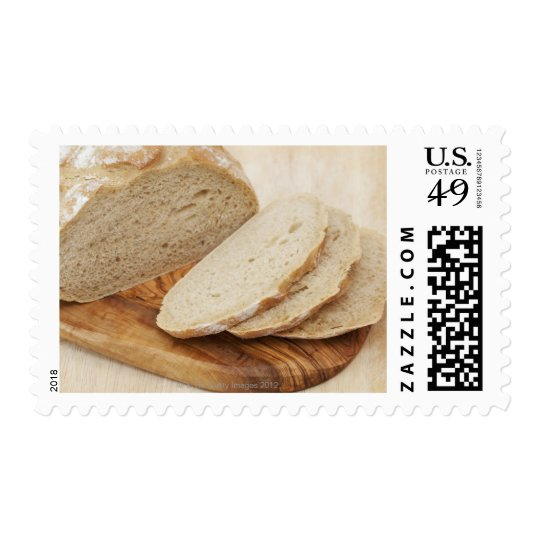 Country Bread (Pain de Campagne) on a chopping Postage