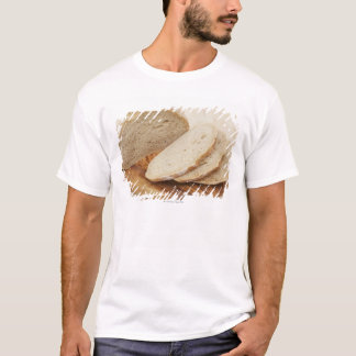 Country Bread (Pain de Campagne) on a chopping T-Shirt
