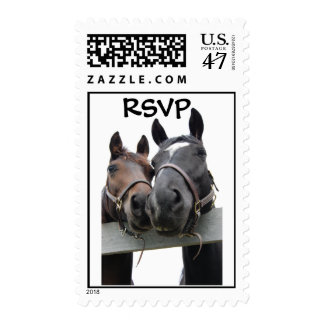 Country Bride and Groom Postage