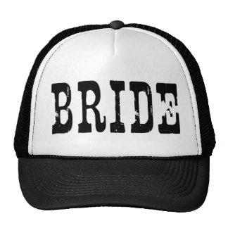 Country Bride Black Trucker Hat