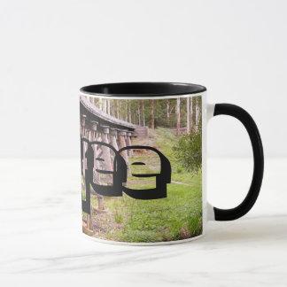 Country bridge mug