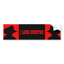 Country Bumper Sticker