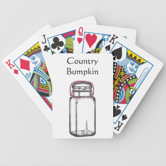 Country Bumpkin Bicycle Playing Cards